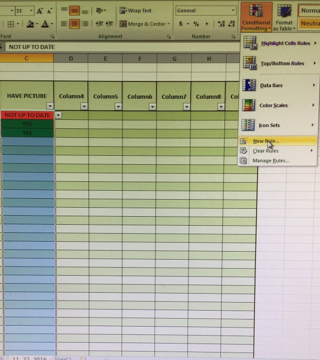 how to make drop down options in excel