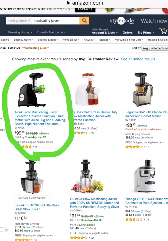 Jack lalanne power juicer consumer reviews